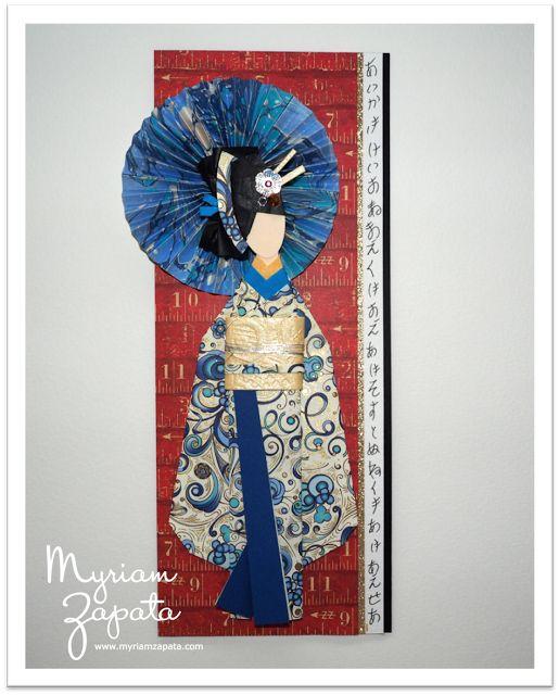 Myriam Zapata - Artesanía en papel