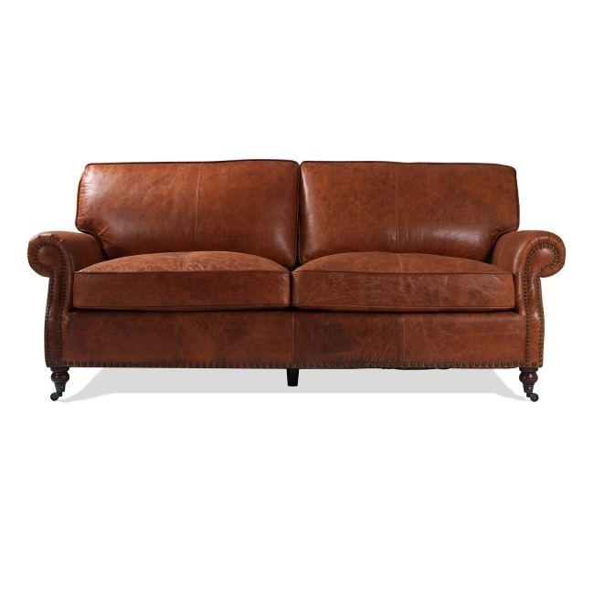 Newport Vintage 3-sits soffa - TheHome - Möbler online #soffor