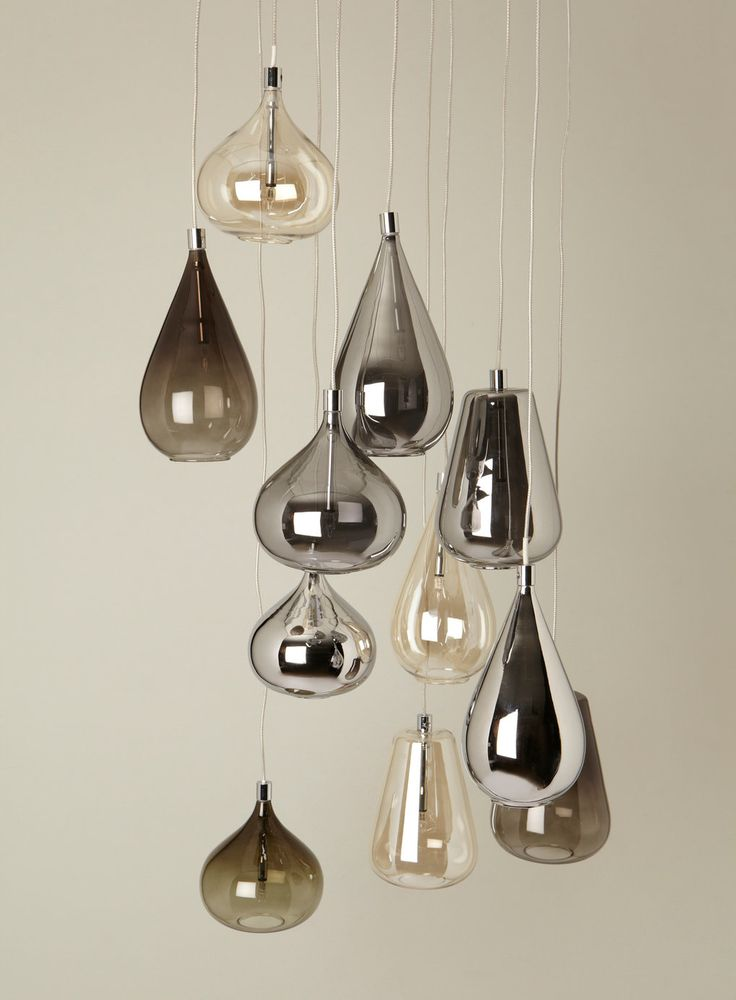 Smoke Nadine Cluster Pendant From Bhs Light Pinterest