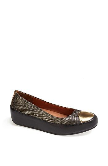 FitFlop 'Due Pop' Leather Flat available at #Nordstrom