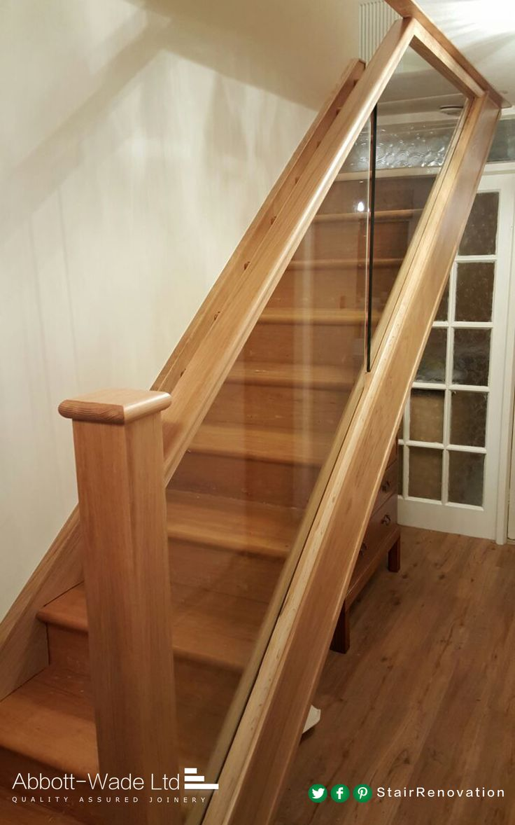 Diminishing glass maximises the width of your stairs without compromising on design and style.