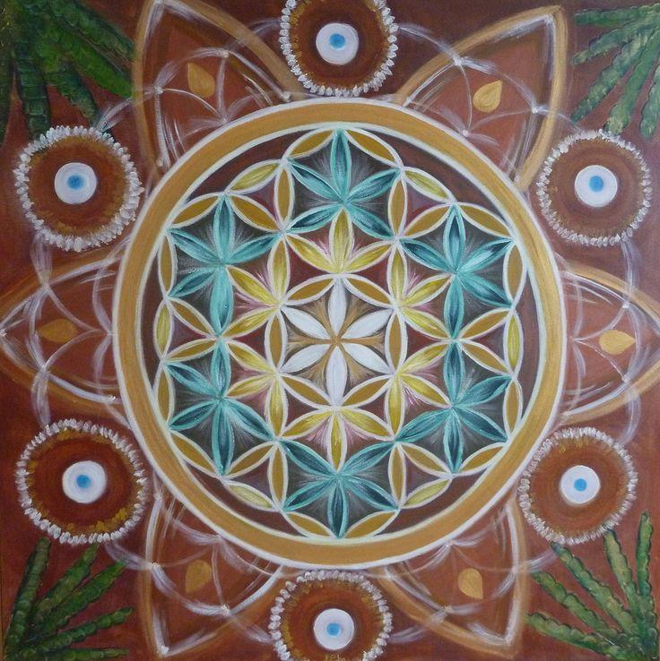 Mandala Kvet života pre Kafríkovcov