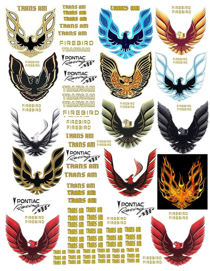 1:24 FIREBIRD TRANSAM DECALS #2 FOR DIECAST, MODEL CARS & DIORAMAS DISPLAYS