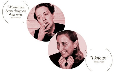 Elsa Schiaparelli and Miuccia Prada: Worth Reading, Elsa Schiaparelli, Favorite Places, Better Designers, Article, Books Worth, Metropolitan Museum, Miuccia Prada, Miuccia Women