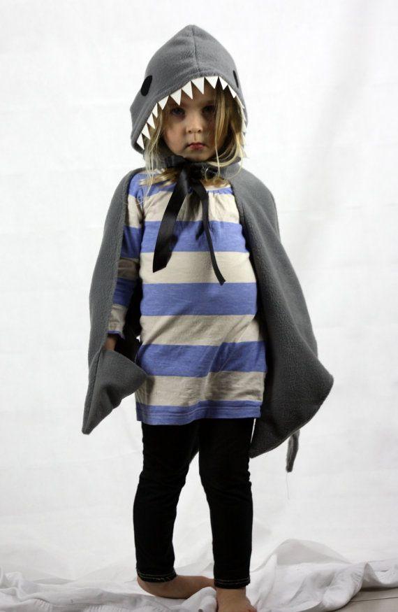 Childrens Shark Kostüm Kleid bis Kap von sparrowandbcostumery