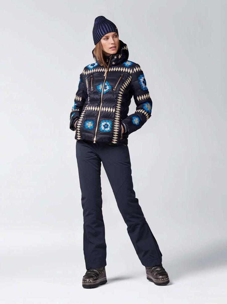 Ski-Daunenjacke ELENA in Blau für Damen | BOGNER CH