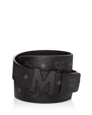 Reversible Signature Leather Belt - $295