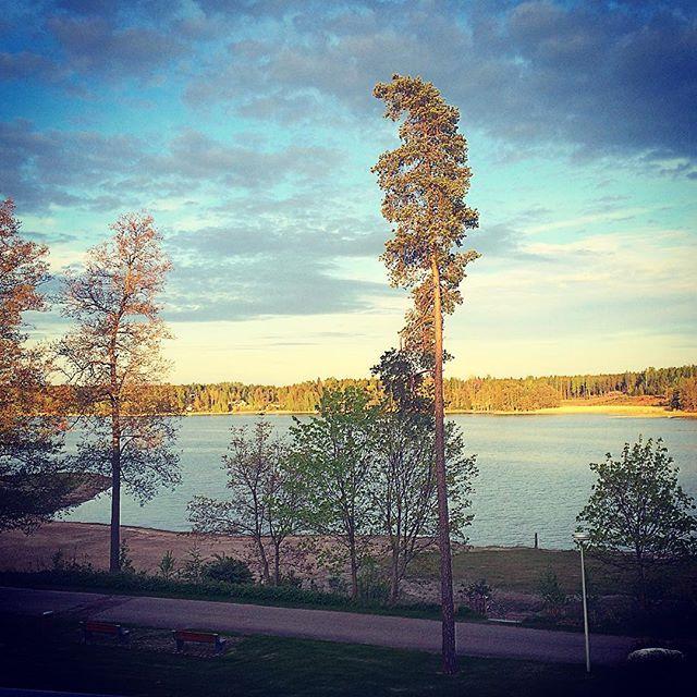 Greetings from Långvik hotel! @pinghelsinki #view #langvikhotel