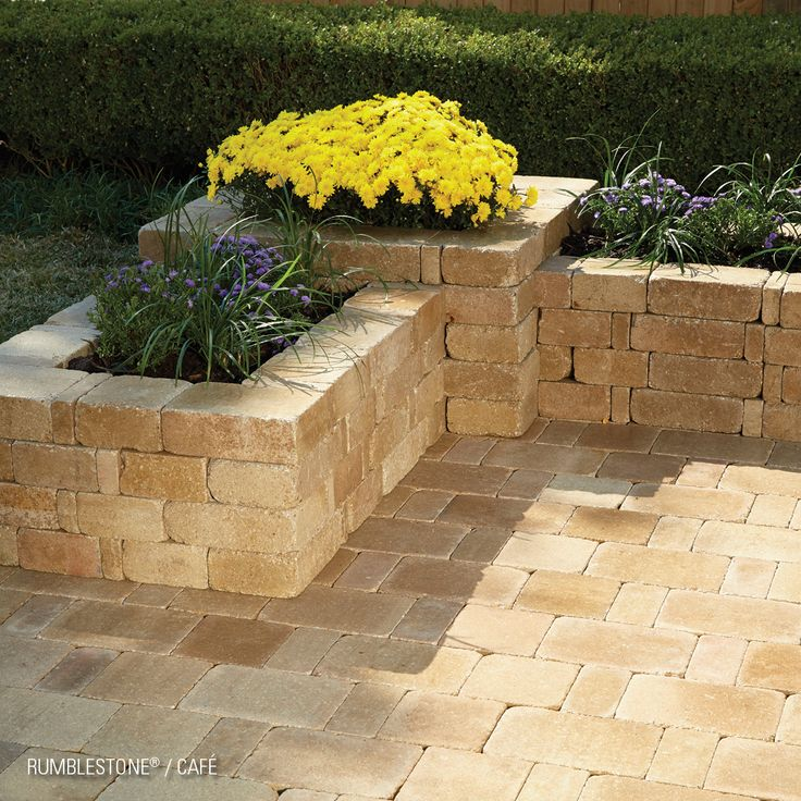 enhance the beauty of your yard with pavestone s on simple effective and easy diy shelves decorations ideas the way of appearance of any space id=70308