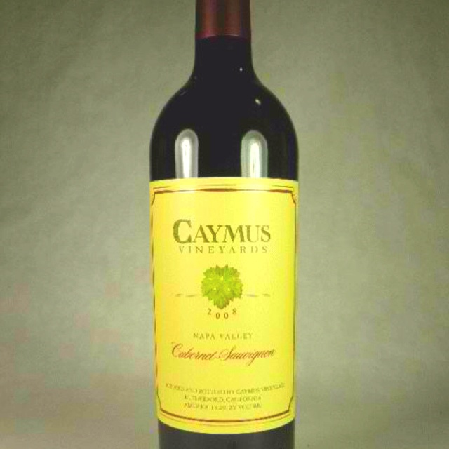 Caymus Napa. If I like you, I'll open this..end of story.