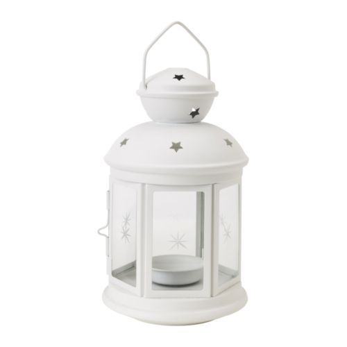 $3.99 Lantern for centerpieces.. spray paint it your wedding colours? (lots of other options too!)