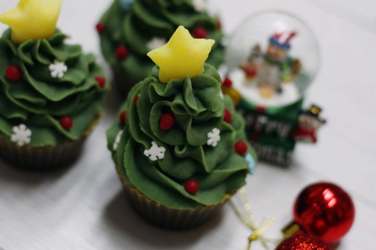 Christmas tree cold process soap