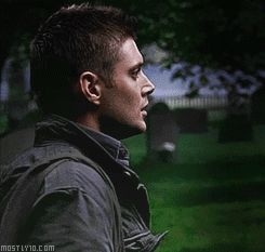 Dean Winchester and his favorite phrase.  :)  [GIF]  this is the best SOB from Dean in the whole series so far!!!!