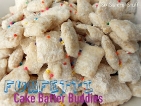 Chex Funfetti Cake Batter Buddies . . . only 10 minutes to
