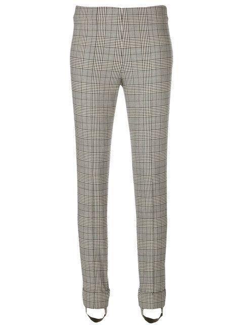 Achetez Ermanno Scervino pantalon skinny à carreaux.