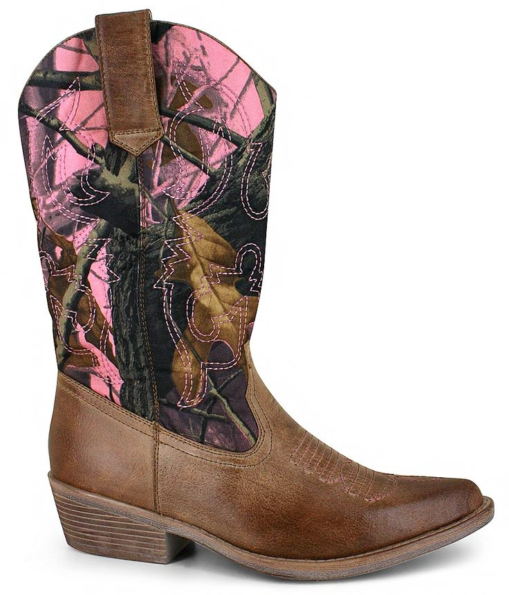 Classic Western Boot by Hot Tomato^:synthetic upper, classic western