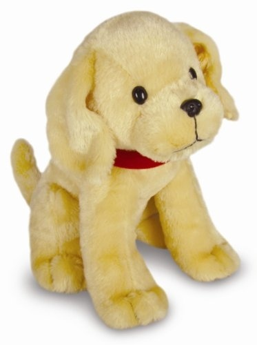 This large plush dog is based on the popular line of Biscuit books for beginning readers.  Approximately 11 inches long and machine washable. Sure to please any child.