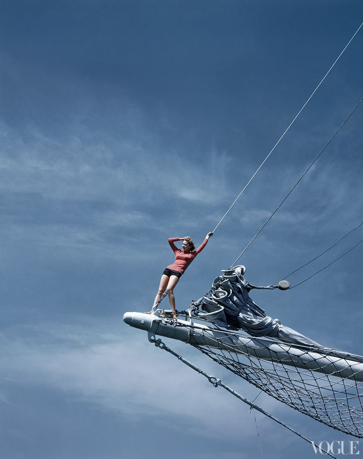 vogue. july 1940. photographed by toni frissell. american sporting beauty.