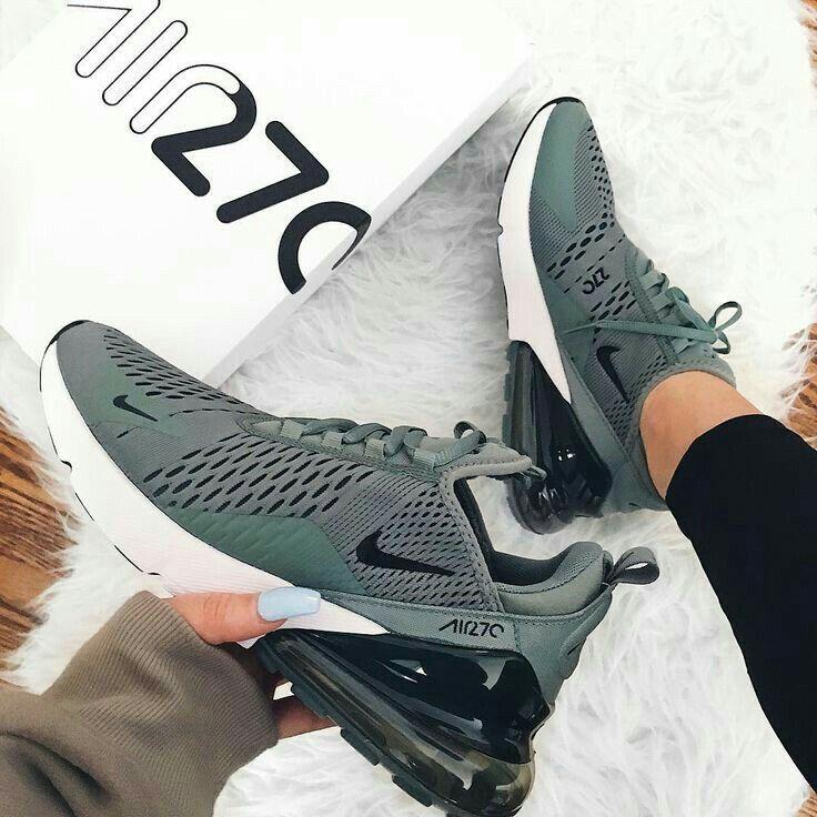P I N T E R E S T Annaxlovee Green Nike Shoes Stylish Sneakers Sneakers