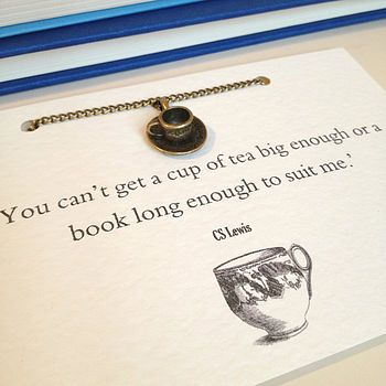 Varietats: Literary Emporium Necklace