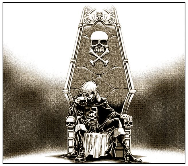 Captain Harlock ~ Dimension Voyage Story by Leiji Matsumoto, Art by Kouiti Shimaboshi