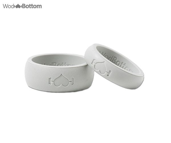 His and Her 2-Pack Silicone Rings
