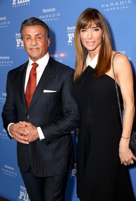 Actor Sylvester Stallone and wife Jennifer Flavin attend the Montecito Award at the Arlington Theater at the 31st Santa Barbara International Film Festival on Feb. 9. (Photo by Rebecca Sapp/Getty Images for Santa Barbara International Film Festival) http://sbseasons.com/2016/02/photo-gallery-sylvester-stallone-at-santa-barbara-international-film-festival/ #sbseasons #sb #santabarbara #SBSeasonsMagazine #SBIFF #SylvesterStallone #JenniferFlavin To subscribe visit sbseasons.com/subscribe.html