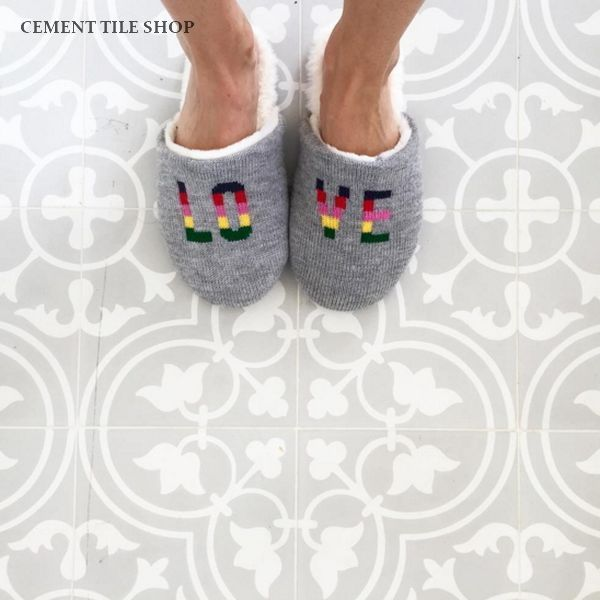 Cement Tile Shop - Encaustic Cement Tile Bouquet II