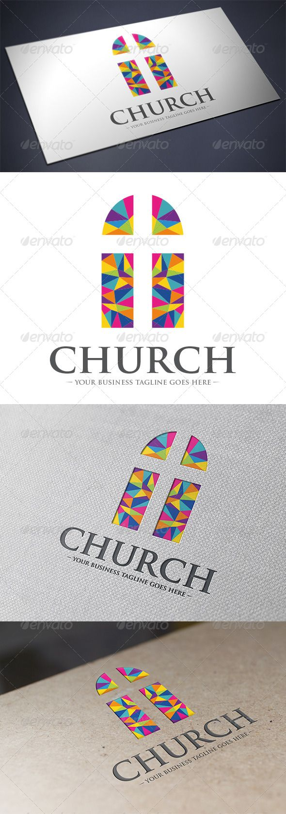 Church Logo Template — Vector EPS #hope #priest • Available here → https://graphicriver.net/item/church-logo-template/5628791?ref=pxcr