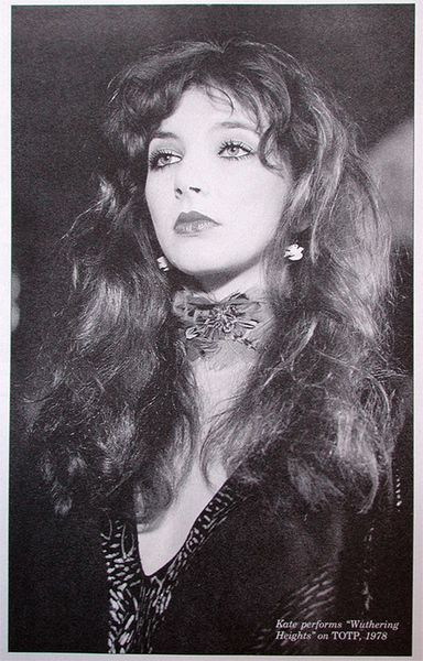 You can't not love Kate Bush. If not for her music, for the way she's been able to have complete control on her career.