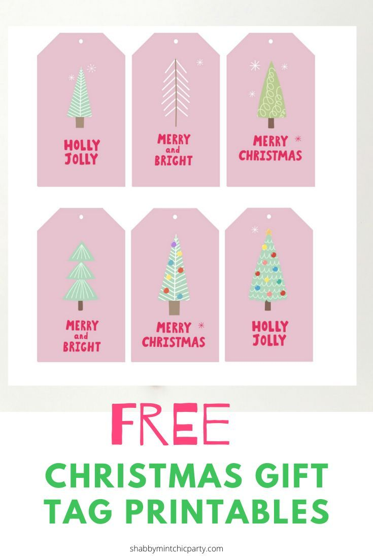 Free Christmas Tree Gift Tags Shabby Mint Chic Party Christmas Gift Tags Free Christmas Tree Gift Tags Free Printable Christmas Gift Tags