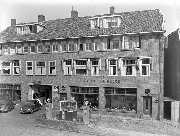 Volkswagengarage De Kroon aan de Amsterdamseweg nr. 204, door Renes…