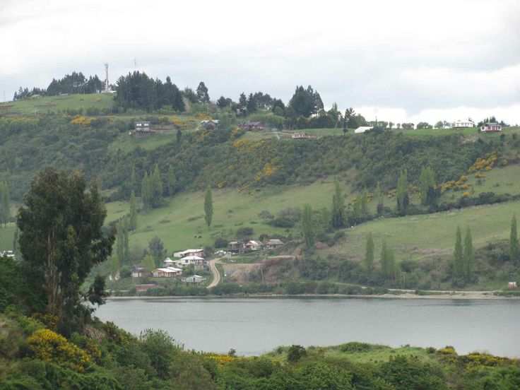 Los cerros de Castro, Chiloé. // The hills in Castro, Chiloé. (X Región)