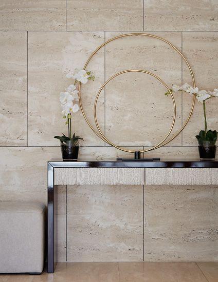 9 Chic Minimalist Hallway Ideas. Stone Wall TilesStone ...