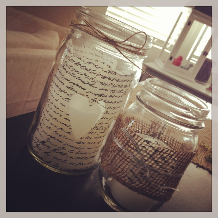 What To Put In Mason Jars For Decoration: 17 Best Images About Mason Jars On Pinterest