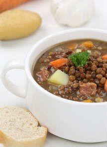 Receta de Lentejas Estofadas para Crock Pot                                                                                                                                                                                 Más