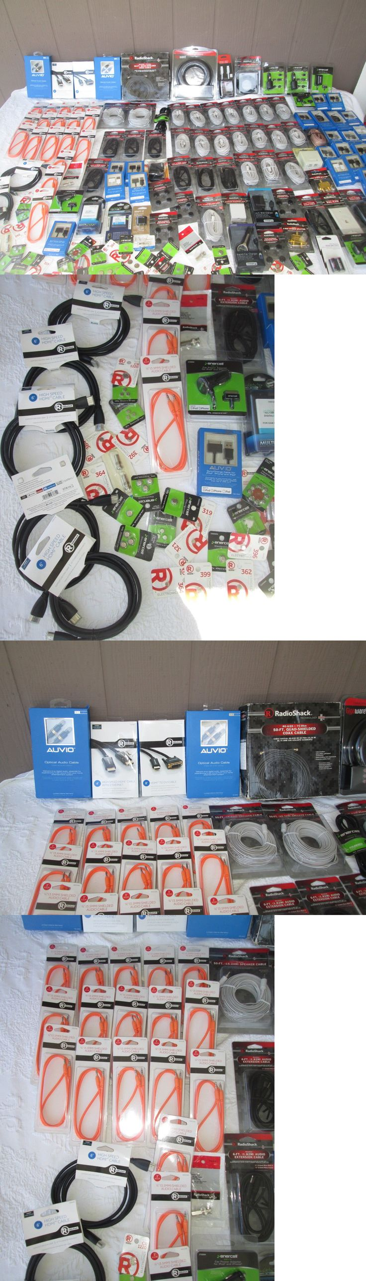Other Consumer Electronic Lots: Wholesale Lot Of Radio Shack Merchandise 170 Pcs. For Retail New Jp 05 -> BUY IT NOW ONLY: $100.0 on eBay!