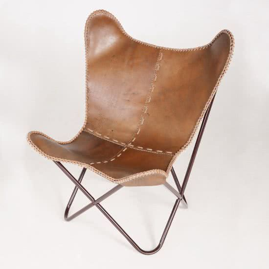 FUJL Butterfly Chair   Vlinderstoel   Leder   Vintage Ideas