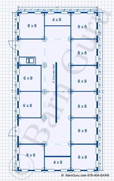 dog kennel blueprints - Google Search                                                                                                                                                                                 More