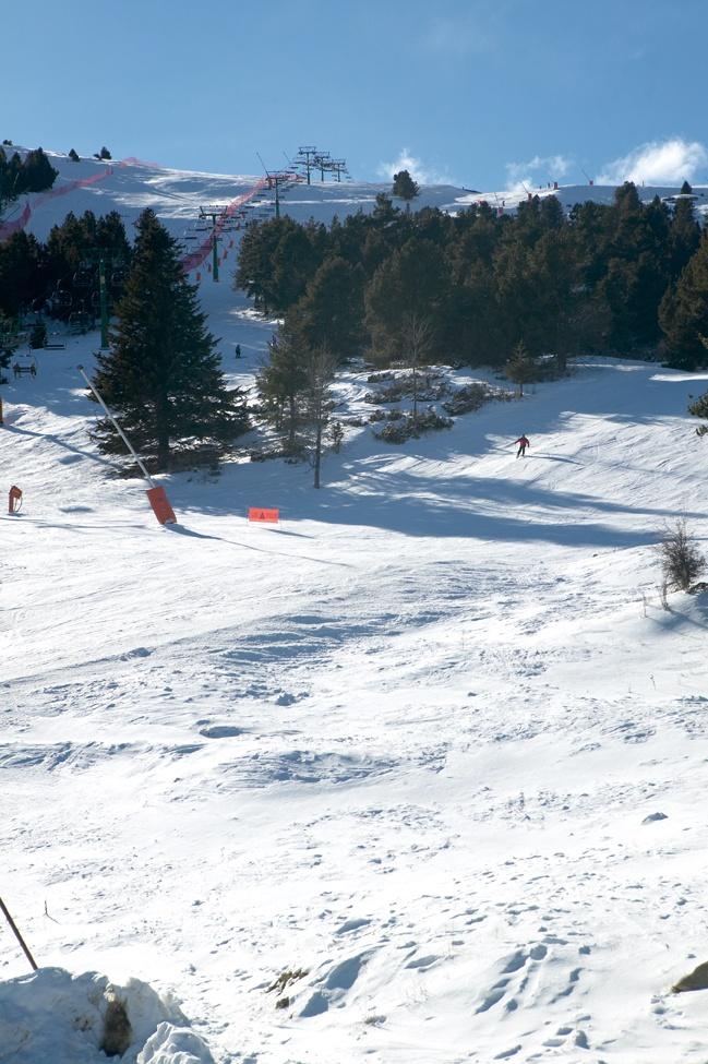 Mare de Déu de les Neus - La Molina. Activitats: Què es pot practicar als voltants? excursions caminant, esquí (la Molina, 4 km, i Masella, 11 km). Golf, tennis, hípica, patinatge sobre gel, natació, ciclisme de muntanya, ultralleugers i globus.