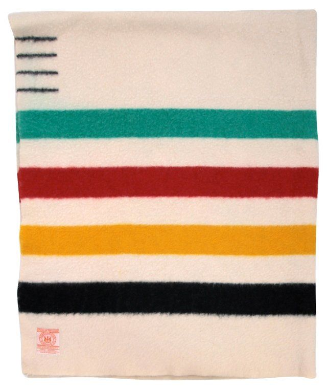 how to clean a hudson bay wool blanket