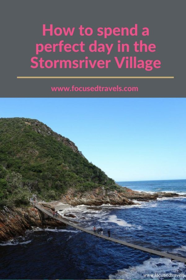 The Stormsriver village in the Garden Route of South Africa offers a variety of activities for families to enjoy