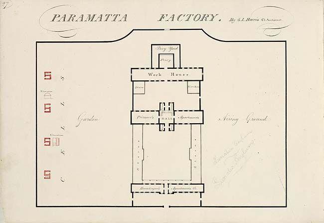 Female penitentiary or factory, Parramatta