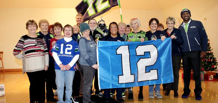 Seahawks Legends Spend Time With Senior Communities During '12 Days of Goodness'