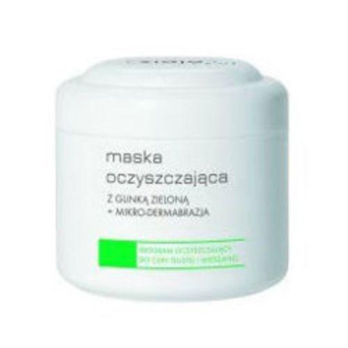 Maska oczyszczająca z glinką zieloną + mikrodermabrazja (Ziaja Pro) - cena, opinie, recenzja