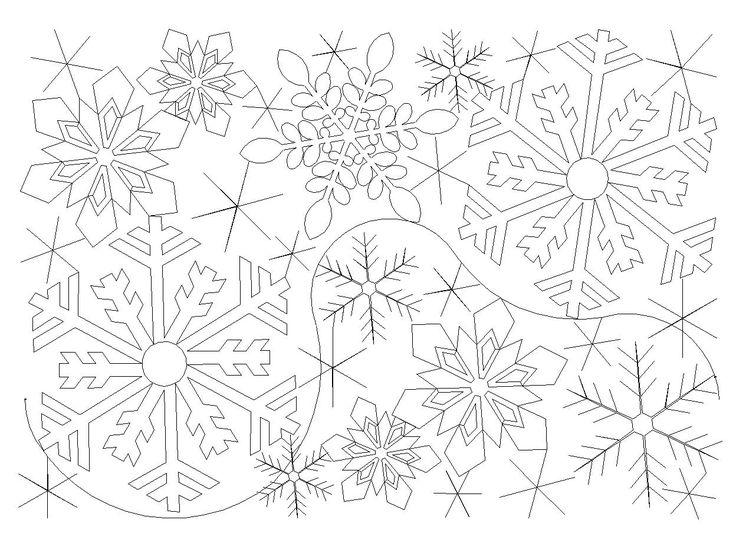 Shop | Category: Christmas / Winter | Product: Jessica's Snowflake E2E