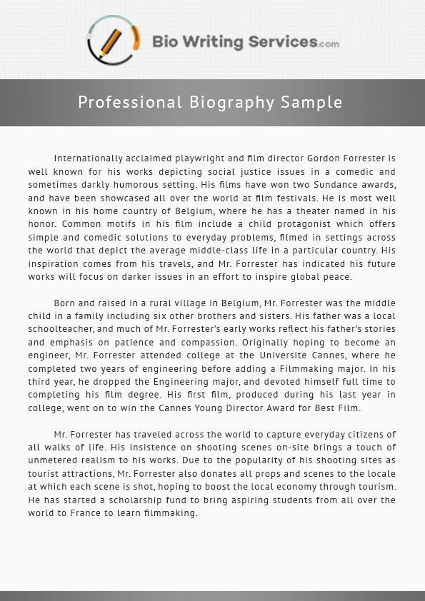 Career resources and writing services