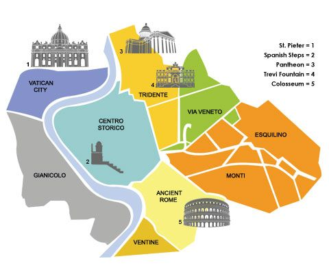 wijken rome - Google zoeken
