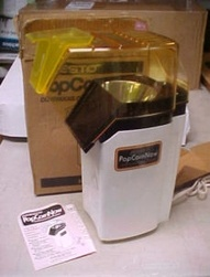 Presto PopCornNow Hot Air Popcorn Popper model #0481008
