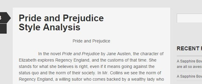 an analysis of satire in pride and prejudice by jane austen Jane austen (uk: / ˈ ɒ s t ɪ n / 16 had austen sold pride and prejudice on lascelles's innovative work included an analysis of the books austen read and.